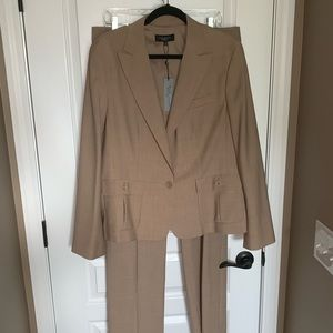 Talbots NWT 2 Piece Tan Suit